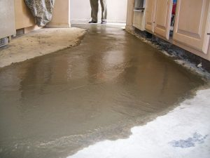 Commercial Building Floor Work